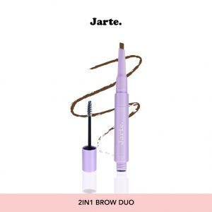 2in1 Brow Pencil and Brow Mascara in Latte